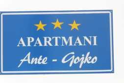 Apartmani Ante-Gojko Grebaštica