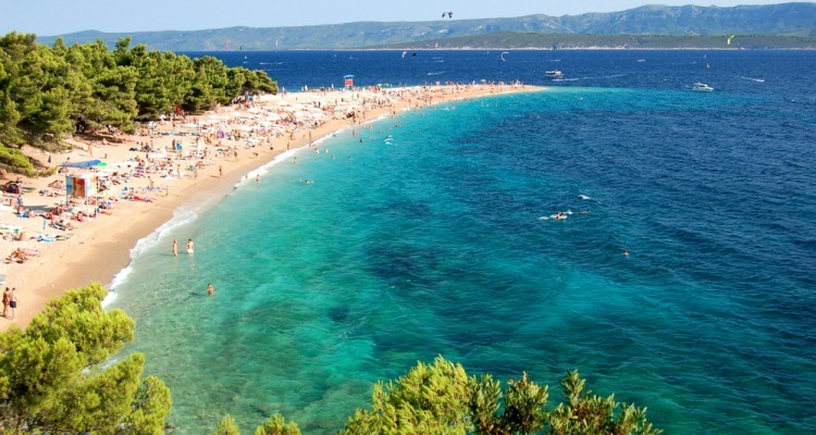 The most popular beaches in Croatia