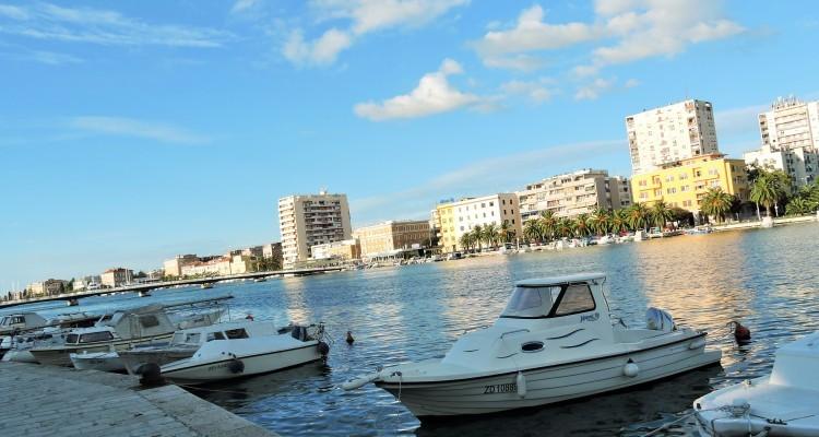 Zadar - Rivieran Zadar, dess stränder och logier