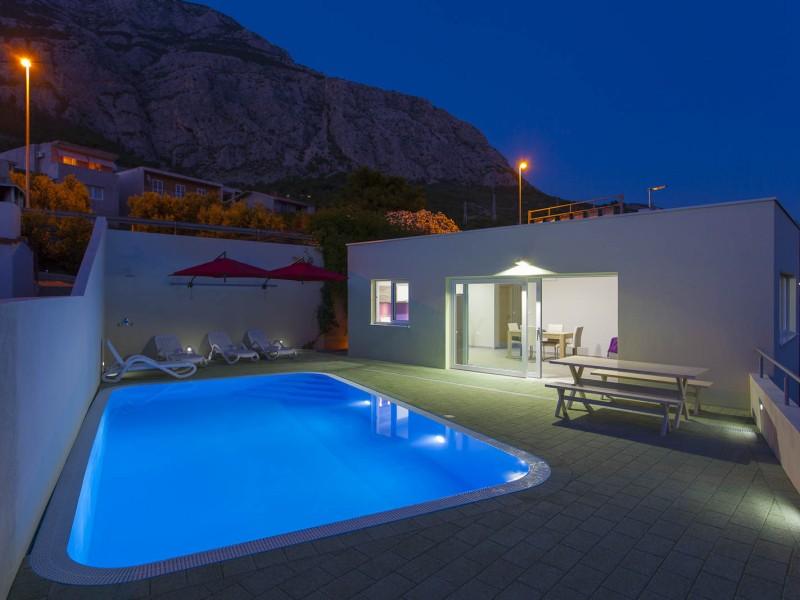 Villas Klarisa with heated pool
